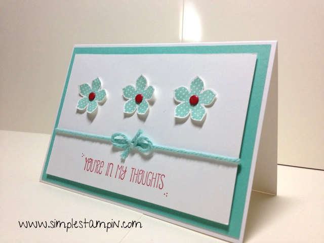 Using My Favorites The Whisper White Note Cards And Envelopes This Sweet Card Will Come Together In A Snap Would Be Great To Make Lots Of