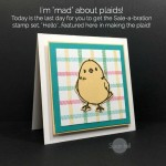 I'm MAD about plaid…how about YOU?