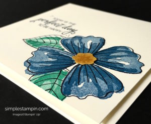 Stampin' Up! Bunch of Blossoms Just Because Card, Susan Itell - stampinup