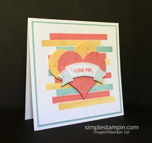 Stampin' Up! Clean and SImple Card, Thoughtful Banners Bundle, Susan Itell - stampinup