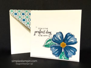 Stampin' Up! Moroccan DSP, Bunch of Blooms Bundle. Susan Itell - stampinup