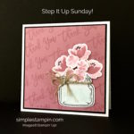 Step it up Sunday ~ I LOVE it!