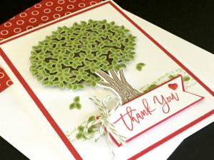 Thanful Branches Stampin' Up! August Bundle - Susan Itell stampinup