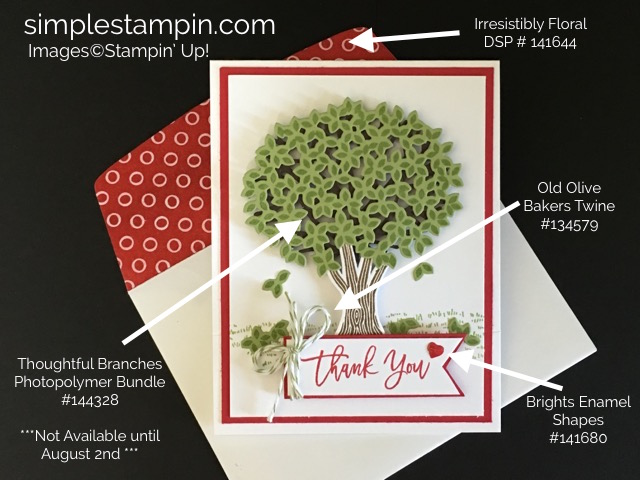 Thoughtful Branches Bundle #3 - Susan Itell Stampinup