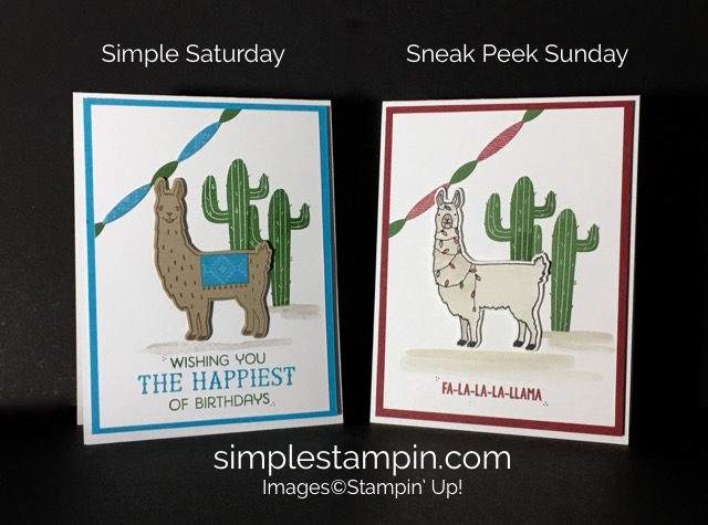 Birthday Fiesta Bundle, Fa-la-la-la Friends Stampin' Up! Holiday, Susan Itell - stampinup