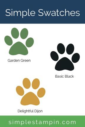 Garden Green, Delightful Dijon, Black