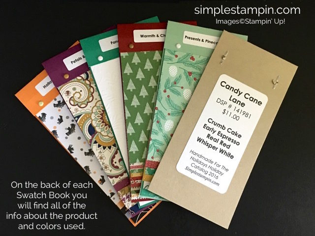Simple Stampin' Swatch Books, Susan Itell-stampinup