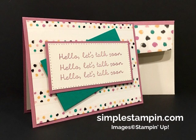 Stampin' Up! Better Together Stamp, Playful Palette Washi Tape, Playful Palette DSP,Stamp-a-ma-jig, Susan Itell - simplestampin