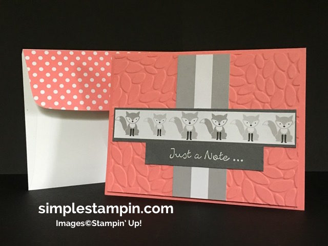 Stampin' Up! Better Together Stamp set, A little Foxy DSP Stack, Petal Burst, Susan Itell-simplestampin
