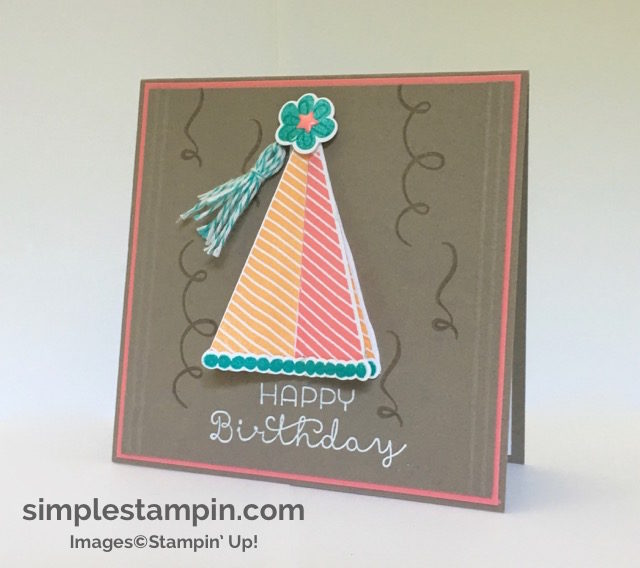 Stampin' Up! Biggest Birthday Ever Bundle, White Heat Embossing, Susan Itell - simplestampin