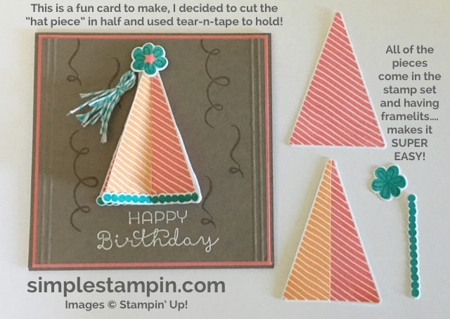 Stampin' Up! Biggest Birthday Ever, Tips and Tricks, Cottage Greetings, Susan Itell - simplestampin