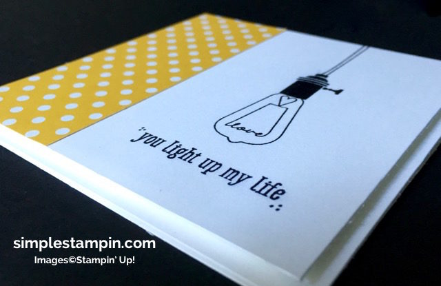 Stampin' Up! Clean and SImple Card using the Pun Intended Hostess Stamp, Susan Itell - simplestampin