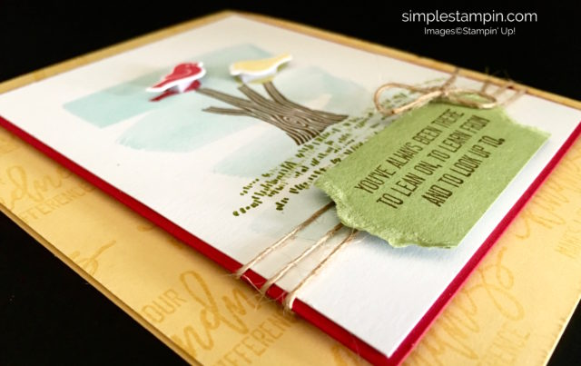 Stampin' Up! Limited Edition Thoughtful Branches Stamp Set, Fresh Fruit DSP, Linen Thread, Susan Itell - stampinup