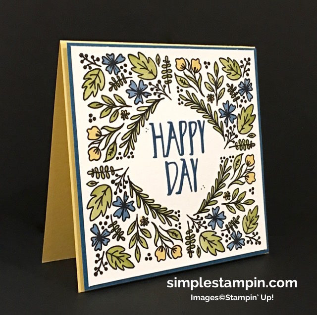 Stampin' Up! Paper Pumpkin August 2016, Perfectly Wrapped Photopolymer, Aqua Painters,Envelope Punch Board,Simple & Clean, Susan Itell -simplestampin.jpg
