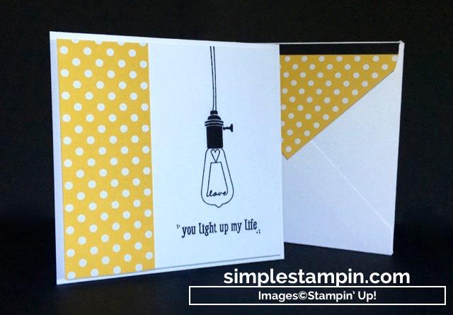 Stampin' Up! Pun Intended Hostess Stamp Set, Regals DSP Stack, Susan Itell - simplestampin