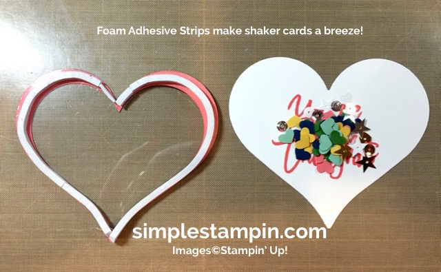 Stampin' Up! Shaker Card, Thoughtful Branches Limited Edition Bundle, Sweet & Sassy Framelits, Product Details,Window Sheets,Hearts Border Punch,Foam Adhesive Strips,Susan Itell - simplestampin