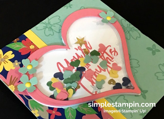 Stampin' Up! Shaker Card, Thoughtful Branches Limited Edition Bundle, Sweet & Sassy Framelits, Product Details,Window Sheets,Hearts Border Punch,Susan Itell - simplestampin