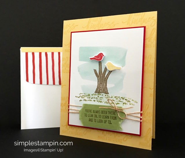 Stampin' Up! Thoughtful Branches Bundle, Fruit Stand DSP, Susan Itell - simplestampin.com
