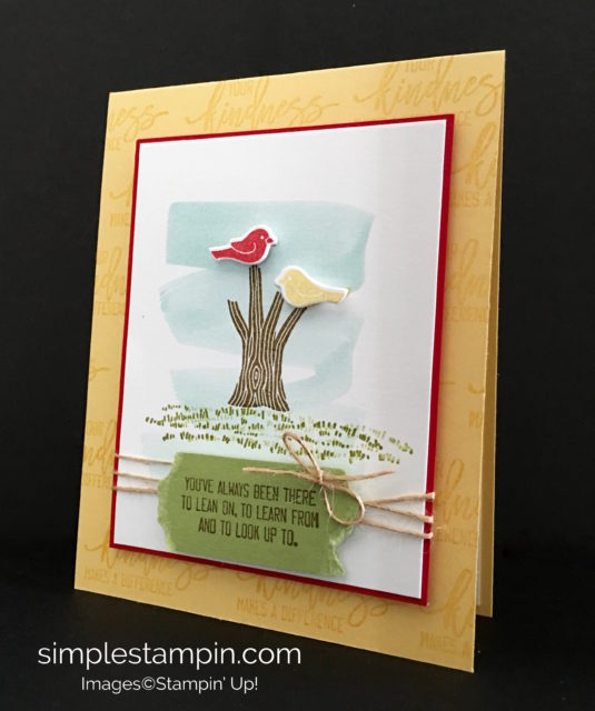 Stampin' Up! Thoughtful Branches Bundle, Susan Itell - simplestampin.com