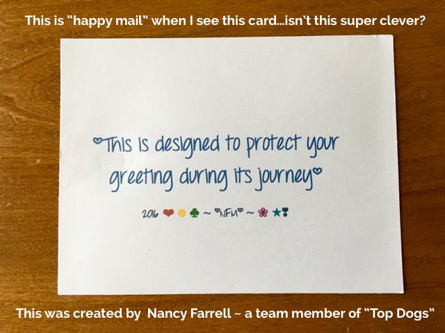 Tuesday Tips and Tricks, Mailing protection - Simple Stampin' - Susan Itell