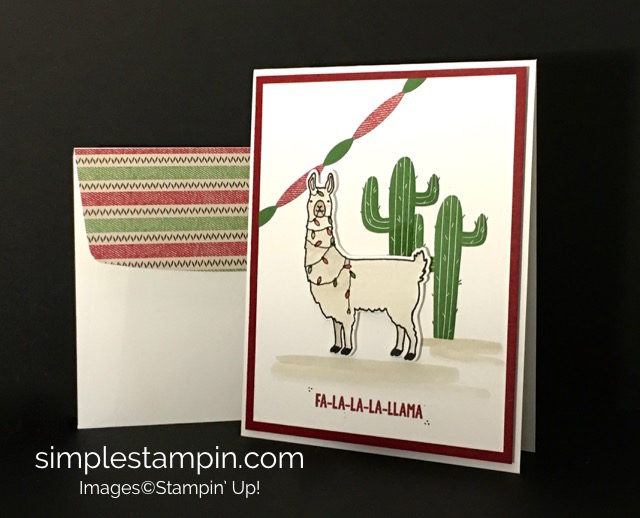 Warmth & Cheer DSP Stack, Fa-la-la-la Friends Stamp Set, Stampin' Up! Holiday 2016 Catalog, Susan Itell-stampinup