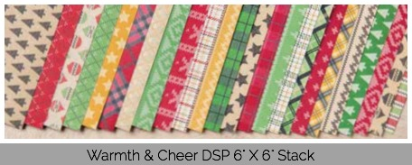 Warmth & Cheer DSP Stack, Stampin' Up!
