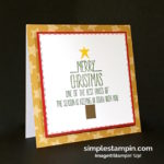 Stampin' towards Christmas!