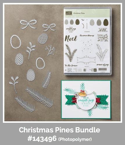 Stampin' Up! Christmas Pines Bundle, Susan Itell - simplestampin