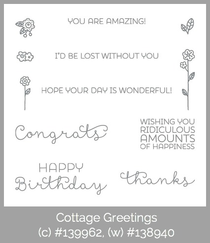 Stampin' Up! Cottage Greetings, Susan Itell - simplestampin