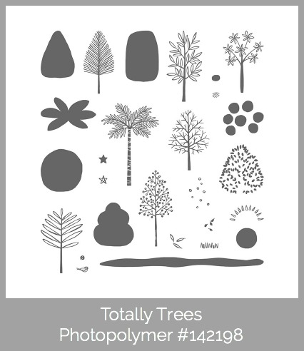 Stampin' Up! Totally Trees Photopolymer, Susan Itell - simplestampin