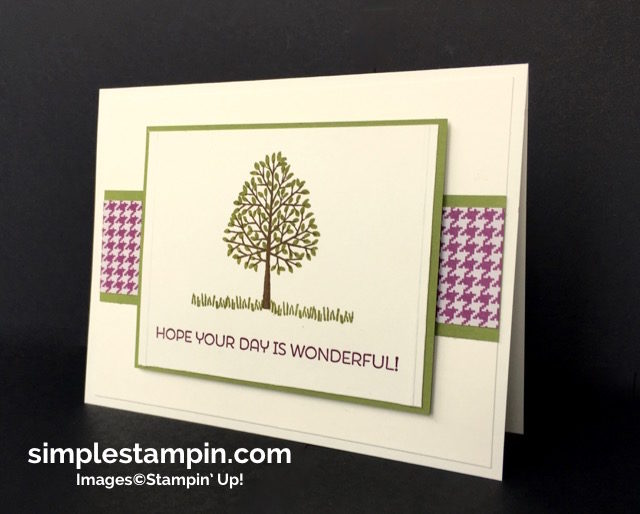 Stampin' Up!,Totally Trees Photopolymer Stamp,Cottage Cottage Stamp,Simply Scored, Stampin' Up! Fall Card,Susan Itell - simplestampin