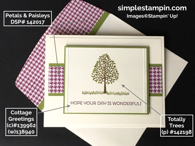 Stampin' Up!,Totally Trees Stamp,Cottage Cottage,Simply Scored, Stampin' Up! Fall Card,Porduct Info,Susan Itell - simplestampin