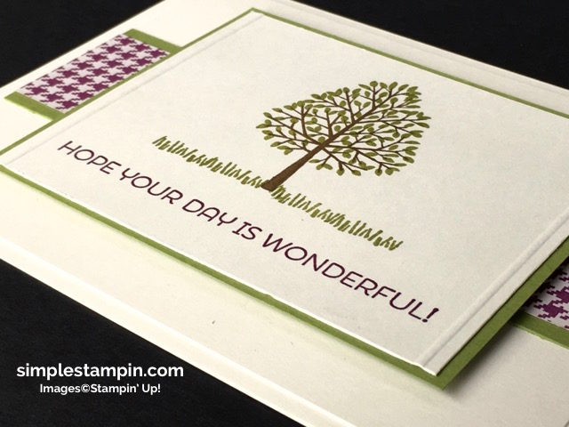 Stampin' Up!,Totally Trees Stamp,Cottage Cottage,Simply Scored, Stampin' Up! Fall Card,Susan Itell - simplestampin