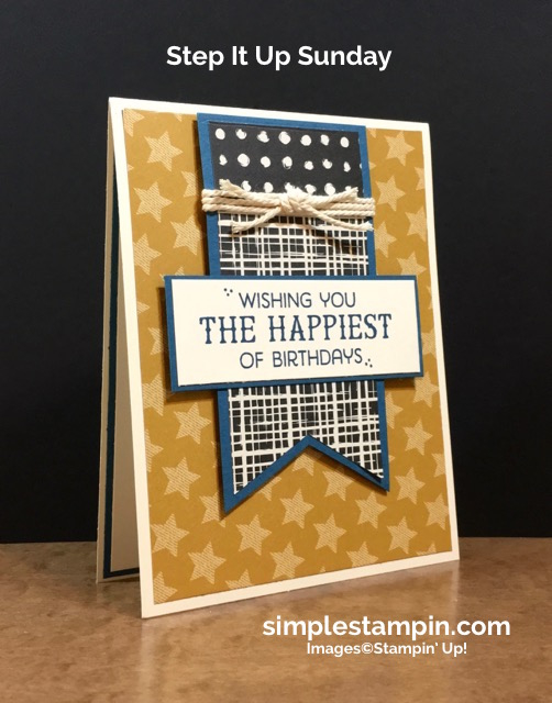 Step It Up Sunday Simple Stampin