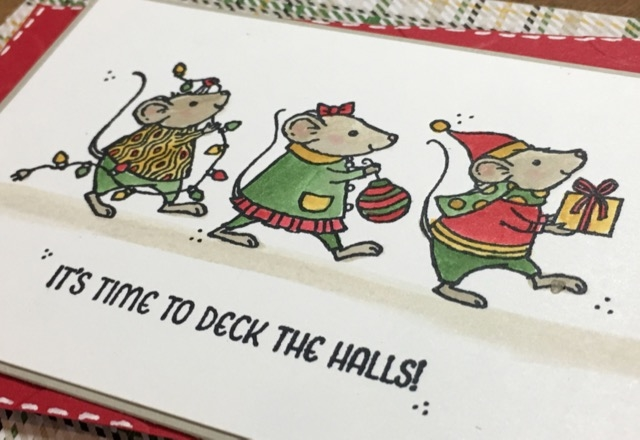 stampin-up-christmas-card-with-merry-mice-warmth-cheer-dsp-polka-dot-embossing-folder-susan-itell-3-simplestampin-com