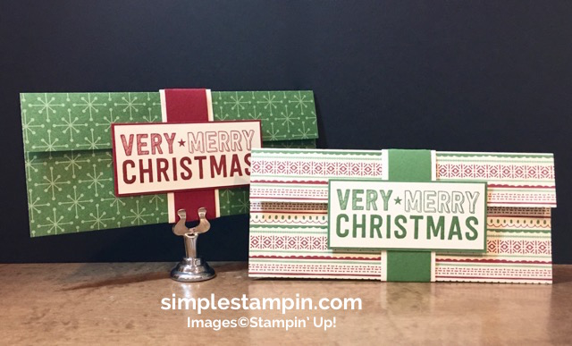 stampin-up-christmas-3-d-ideas-1-diy-paper-check-holders-merry-medley-stamp-heat-embossing-gift-ideas-for-christmas-perfect-pines-framelits-susan-itell-simplestampin
