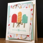 I'm back…with a super cute card!