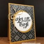 "So true….""enjoy the little things"""