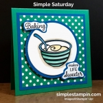 "Time to ""mix it up"" for Simple Saturday!"