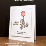Simple Saturday Stampin'…oh so sweet!