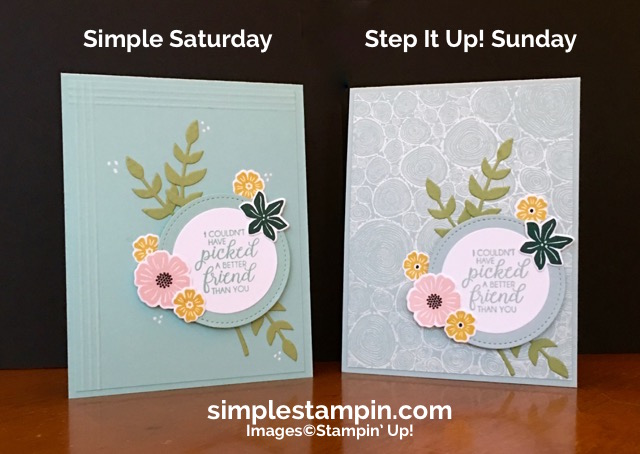 Step It Up On Tuesday Simple Stampin
