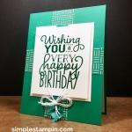 A FORMULA Birthday Card!