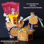 A Trio of fun with Mr. Pumpkin Chum!