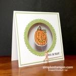 Oh so cute…with Mr. Pumpkin Chum!