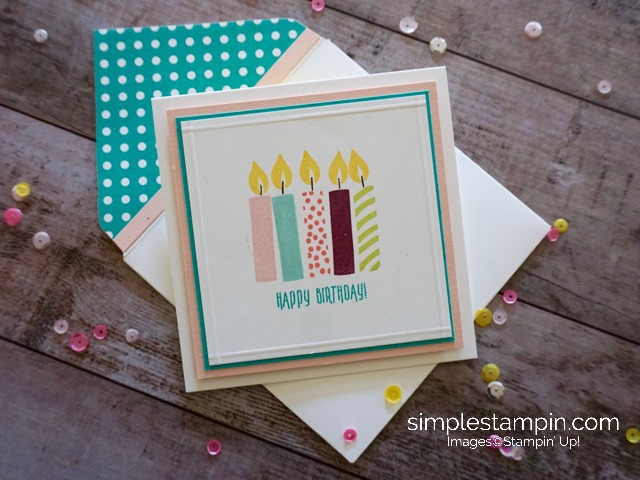 Clean Simple Birthday Card Archives Simple Stampin