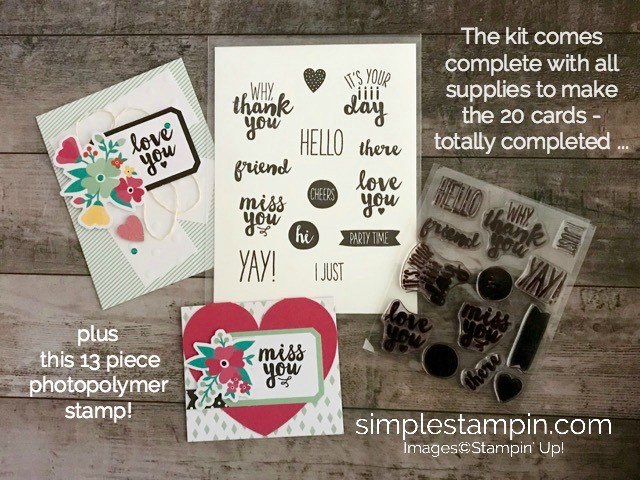 Photopolymer Stamps Archives - Simple Stampin