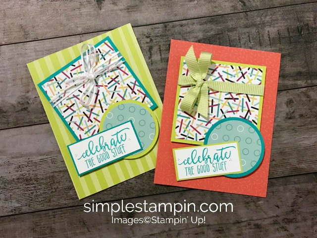 A Birthday Formulample Fun Done Simple Stampin
