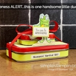 3D Thursday Blog Hop – A Stampers Survival Kit!