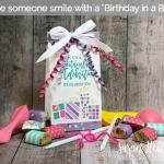 Birthday in a BAG….a 3D Thursday keeper!